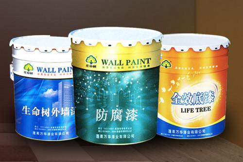 万华漆业讲解水性防锈漆的聚合工艺